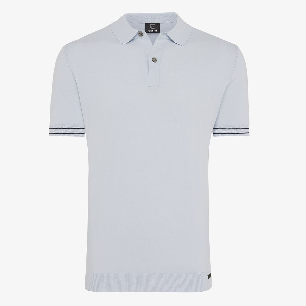 COOL DRY POLO LICHTBLAUW