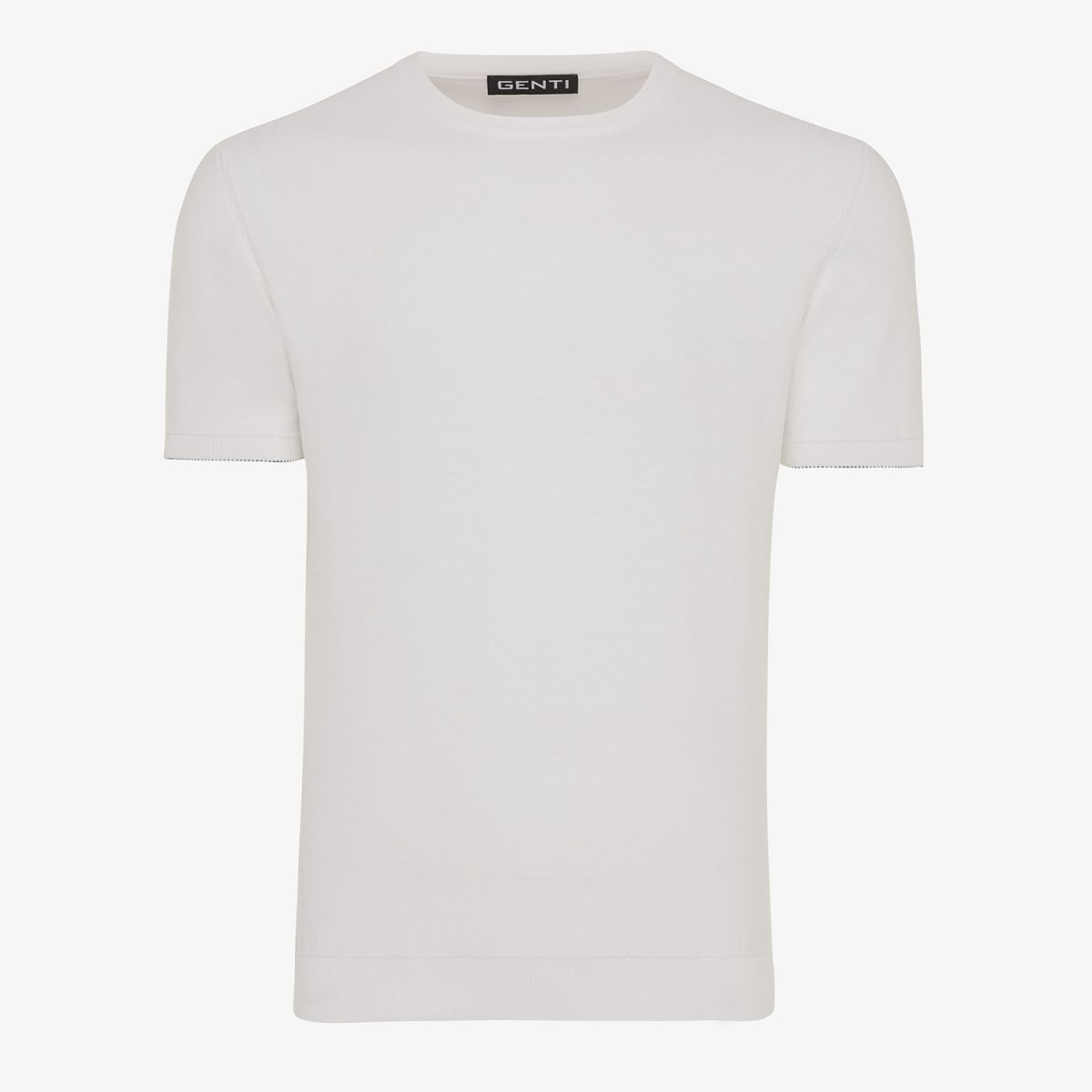 KNITTED T-SHIRT WIT