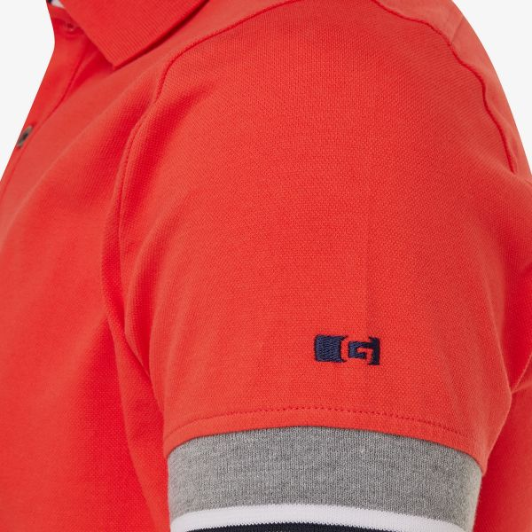 PIQUET STRETCH POLO ROOD