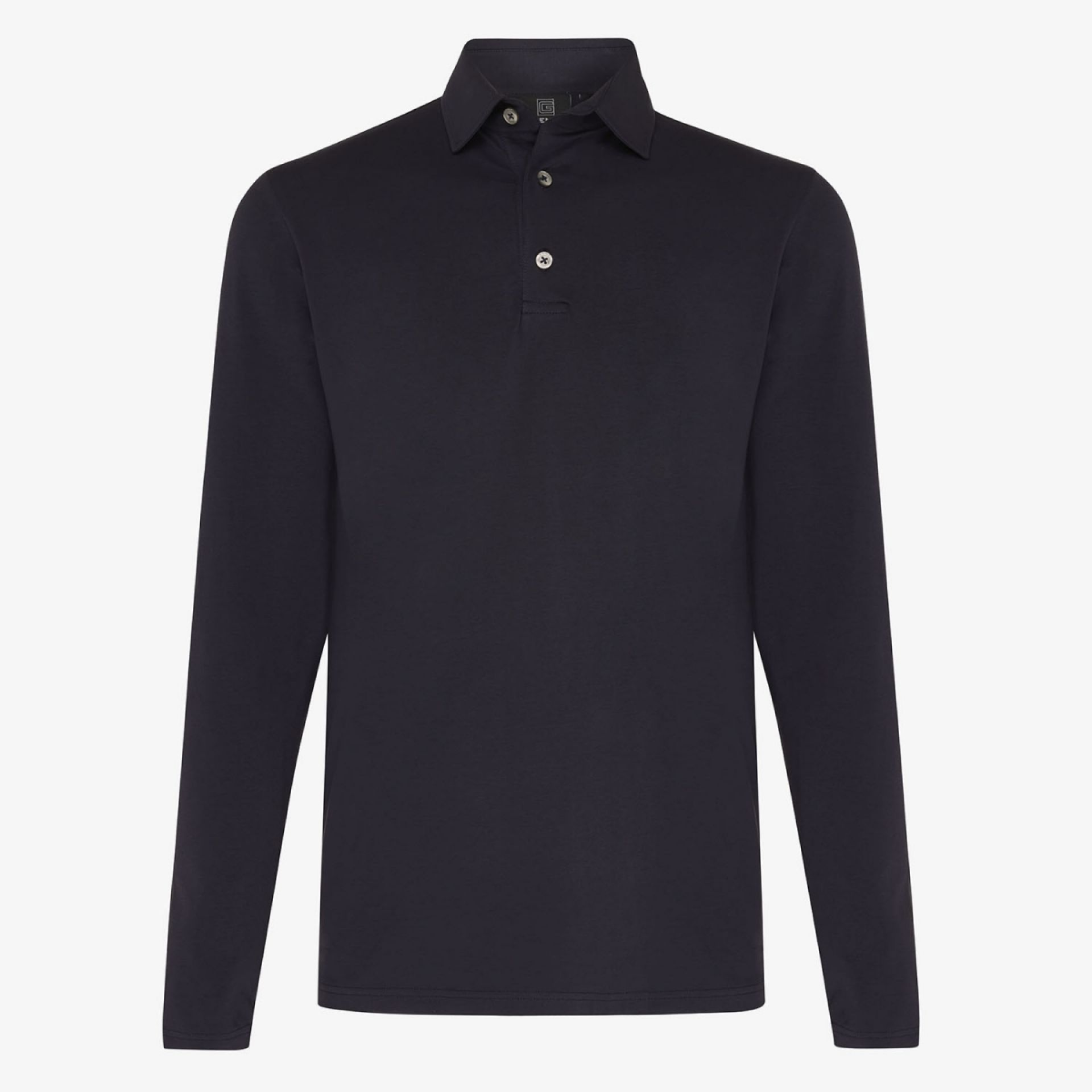 ICE COTTON POLO LS NAVY