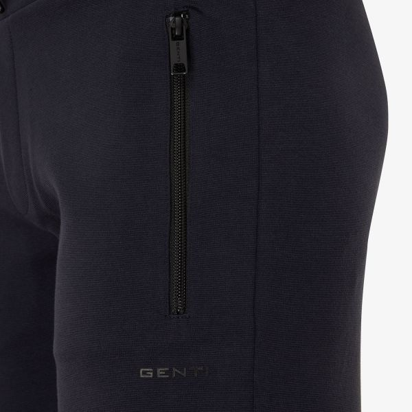 KORTE SWEAT BROEK NAVY