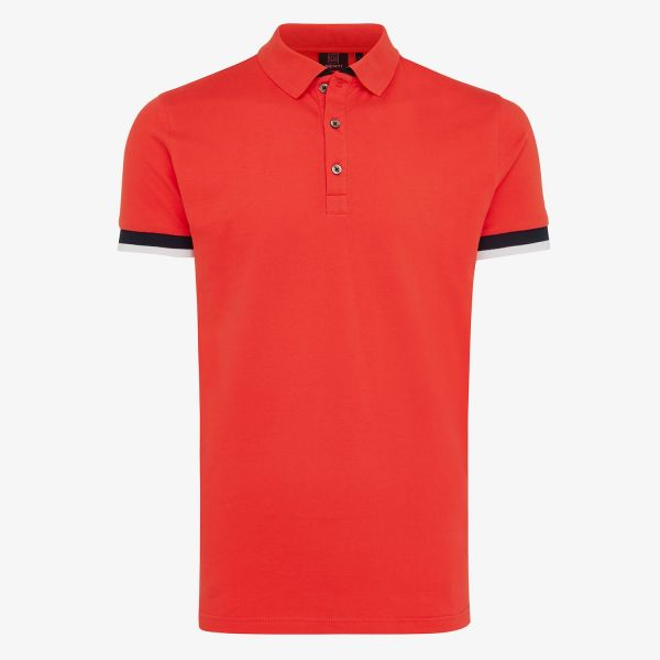PIQUE STRETCH  POLO TAPING ROOD