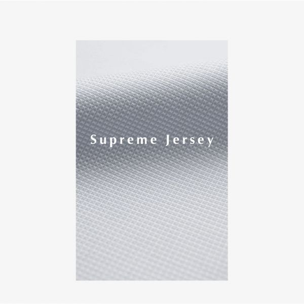 SUPREME JERSEY OVERHEMD WIT