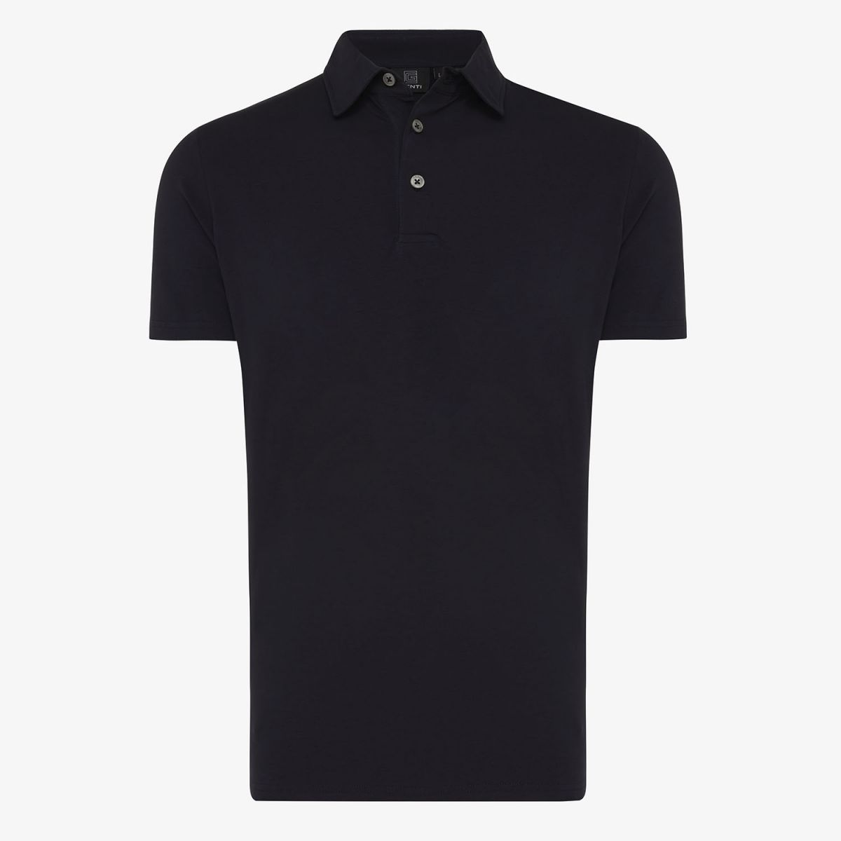 ICE COTTON POLO SS NAVY