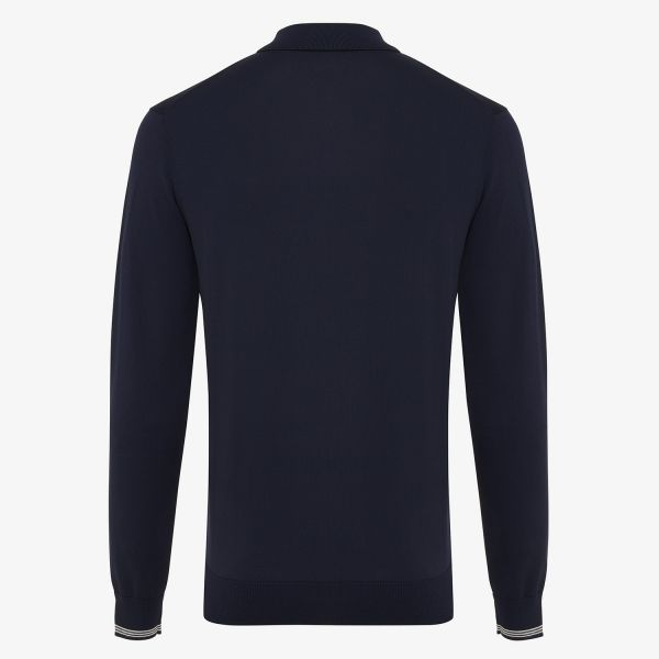 Cool dry polo donkerblauw