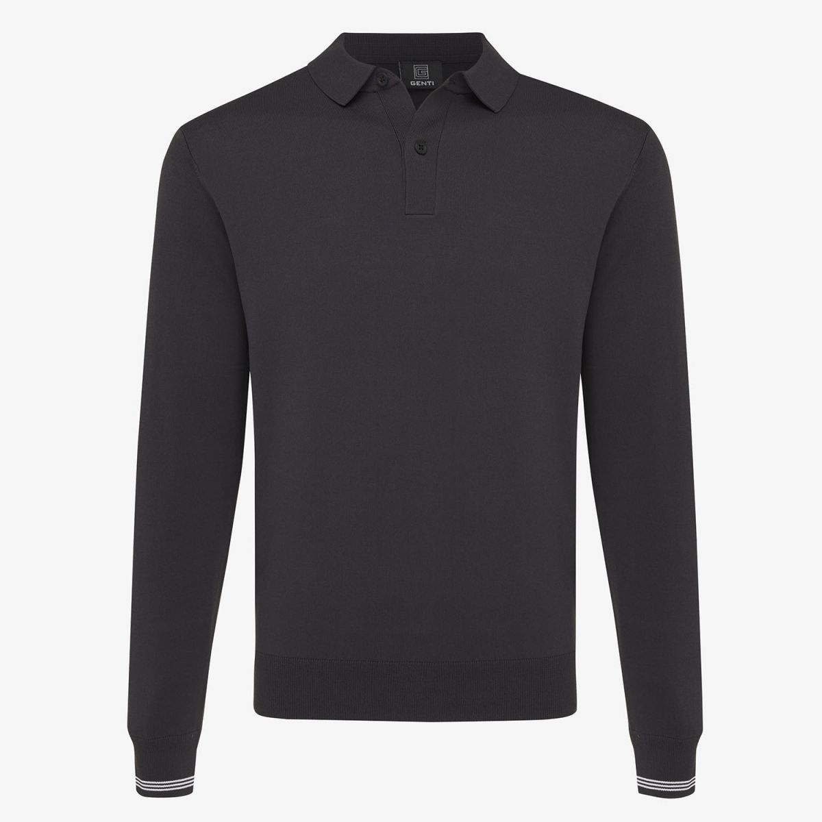 Cool dry polo donkergrijs
